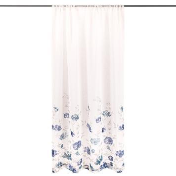 4Home Záves Floral modrá